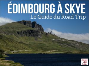 Cover ebook Road Trip Edimbourg Skye