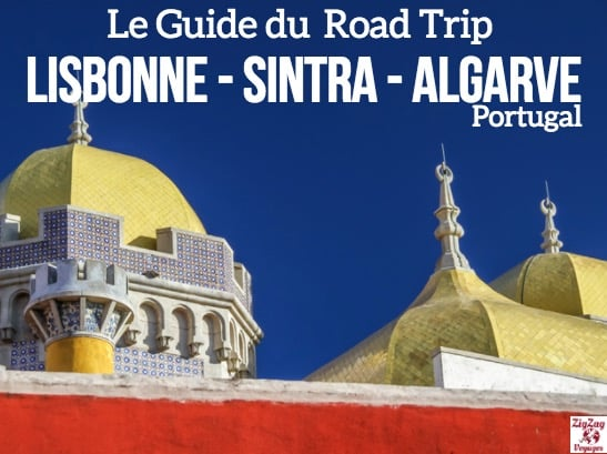 eBook Guide road trip lisbonne sintra algarve couverture