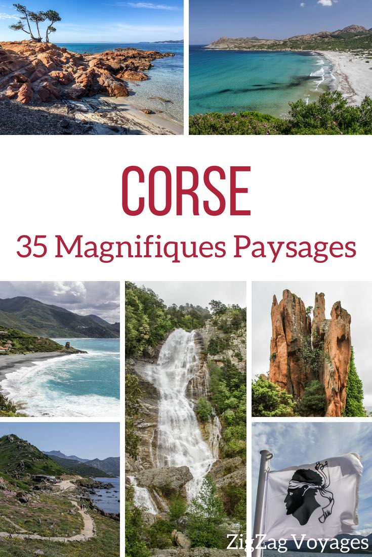 Paysages Corse photos