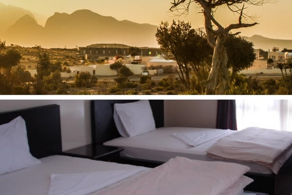 Jebel Shams resort Oman hotels